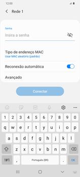Como configurar uma rede Wi-Fi - Samsung Galaxy S20 Plus 5G - Passo 7