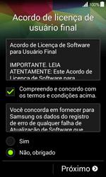 Como configurar pela primeira vez - Samsung Galaxy Ace 4 - Passo 6