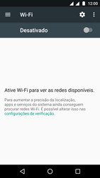Como configurar uma rede Wi-Fi - Motorola Moto G5 - Passo 4