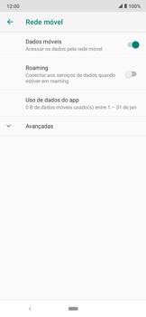 O celular não faz chamadas - Motorola Moto E6 Plus - Passo 8