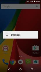 Como reiniciar o aparelho - Motorola Moto G (2ª Geração) - Passo 3