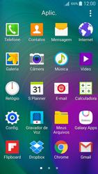 Como configurar seu celular para receber e enviar e-mails - Samsung Galaxy A5 - Passo 3