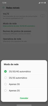 Como conectar à internet - LG K62+ - Passo 10