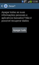 Como restaurar as configurações originais do seu aparelho - Samsung Galaxy Core Plus - Passo 8