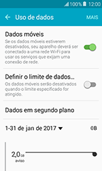 Como configurar a internet do seu aparelho (APN) - Samsung Galaxy J1 - Passo 4