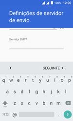 Como configurar seu celular para receber e enviar e-mails - Alcatel Pixi 4 - Passo 20