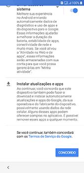 Como configurar pela primeira vez - Samsung Galaxy J6 - Passo 15