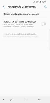 Como atualizar o software do seu aparelho - Samsung Galaxy S9 - Passo 5