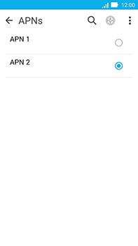 Como configurar a internet do seu aparelho (APN) - Asus ZenFone Go - Passo 16