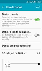 Como ativar e desativar uma rede de dados - Samsung Galaxy J1 - Passo 4
