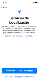 Como configurar pela primeira vez - Apple iPhone X - Passo 21