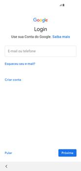 Como configurar pela primeira vez - Samsung Galaxy S10 - Passo 11