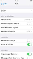 Como configurar seu celular para receber e enviar e-mails - Apple iPhone 7 - Passo 10