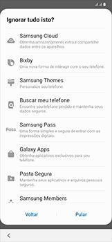 Como configurar pela primeira vez - Samsung Galaxy A50 - Passo 18