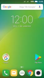 Como configurar seu celular para receber e enviar e-mails - Lenovo Vibe C2 - Passo 1