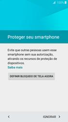 Como configurar pela primeira vez - Samsung Galaxy J2 Duos - Passo 10