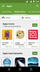 Como baixar aplicativos - Motorola Moto E (2ª Geração) - Passo 5