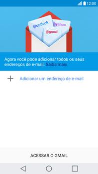 Como configurar seu celular para receber e enviar e-mails - LG G5 Stylus - Passo 5
