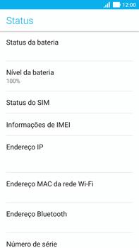 Como encontrar o número de IMEI do seu aparelho - Asus ZenFone 3 - Passo 5