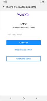 Como configurar seu celular para receber e enviar e-mails - Samsung Galaxy A50 - Passo 7