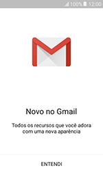 Como configurar seu celular para receber e enviar e-mails - Samsung Galaxy J1 - Passo 5