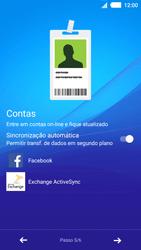 Como ativar seu aparelho - Sony Xperia M4 Aqua - Passo 9