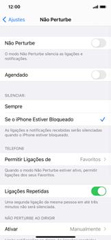 O celular não recebe chamadas - Apple iPhone 11 Pro - Passo 5