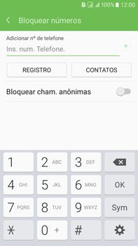 Como bloquear chamadas de um número específico - Samsung Galaxy On 7 - Passo 7