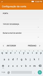Como configurar seu celular para receber e enviar e-mails - Lenovo Vibe K5 - Passo 12