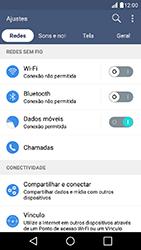 Como configurar uma rede Wi-Fi - LG K10 - Passo 3