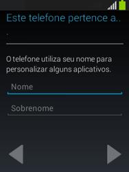 Como configurar pela primeira vez - Samsung Galaxy Pocket - Passo 12