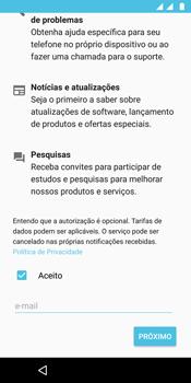 Como configurar pela primeira vez - Motorola Moto G6 Plus - Passo 18