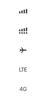 Explicação dos ícones - Apple iPhone 11 Pro - Passo 2