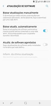 Como atualizar o software do seu aparelho - Samsung Galaxy J8 - Passo 5
