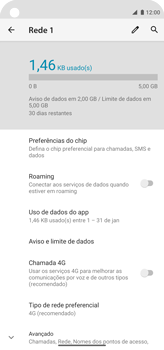 Como conectar à internet - Motorola Moto G8 Power - Passo 9