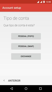 Como configurar seu celular para receber e enviar e-mails - Motorola Moto X Play - Passo 11