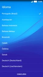 Como ativar seu aparelho - Sony Xperia M4 Aqua - Passo 4