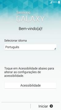 Como configurar pela primeira vez - Samsung Galaxy Note - Passo 3