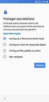 Como configurar pela primeira vez - Samsung Galaxy J6 - Passo 12
