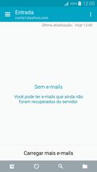 Como configurar seu celular para receber e enviar e-mails - Samsung Galaxy A5 - Passo 10