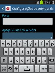 Como configurar seu celular para receber e enviar e-mails - Samsung Galaxy Pocket - Passo 11