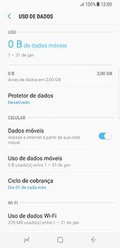 Como ativar e desativar uma rede de dados - Samsung Galaxy S8 - Passo 5
