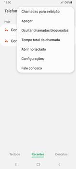 Como bloquear chamadas de um número específico - Samsung Galaxy A32 5G - Passo 6