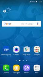 Como ativar e desativar uma rede de dados - Samsung Galaxy S7 - Passo 1