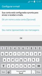 Como configurar seu celular para receber e enviar e-mails - Samsung Galaxy A5 - Passo 17