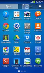 Como configurar seu celular para receber e enviar e-mails - Samsung Galaxy Grand Neo - Passo 3