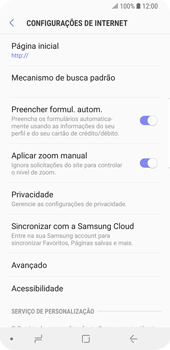 Como configurar a internet do seu aparelho (APN) - Samsung Galaxy S9 - Passo 23