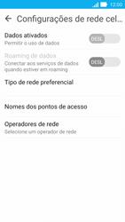 Como ativar e desativar uma rede de dados - Asus ZenFone 2 - Passo 6