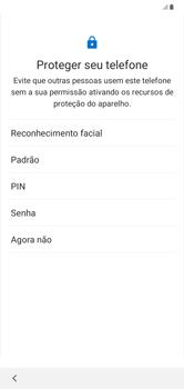 Como configurar pela primeira vez - Samsung Galaxy A10 - Passo 13