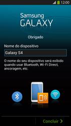 Como configurar pela primeira vez - Samsung Galaxy S IV - Passo 14